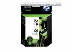 Genuine HP 65A Black and Tri-Color Ink Cartridge T0A36AN