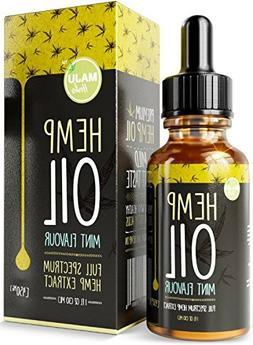 Hemp Oil Extract , Strong Full Spectrum Pain & Anxiety Relie