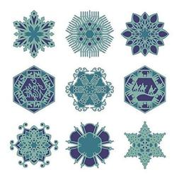 Cricut Holiday Snowflakes Cartridge Multi-Colored