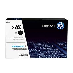 HP 26X Original Toner Cartridge - Black - Laser - High Yield