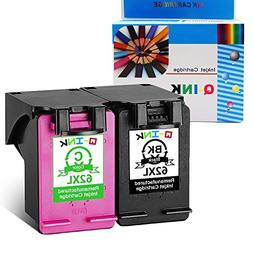 QINK Remanufactured Ink Cartridge Replacement for HP 62XL