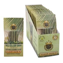 King Palm Hand Rolled Leaf Wrap Rolls - 4 Leaves/Pack -