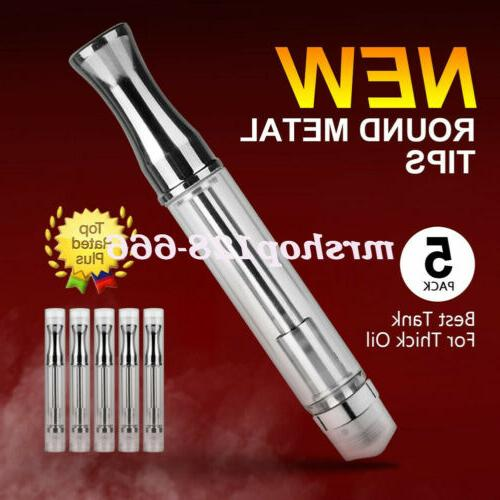 10/20-Pack Cartridge Glass Tank Extract