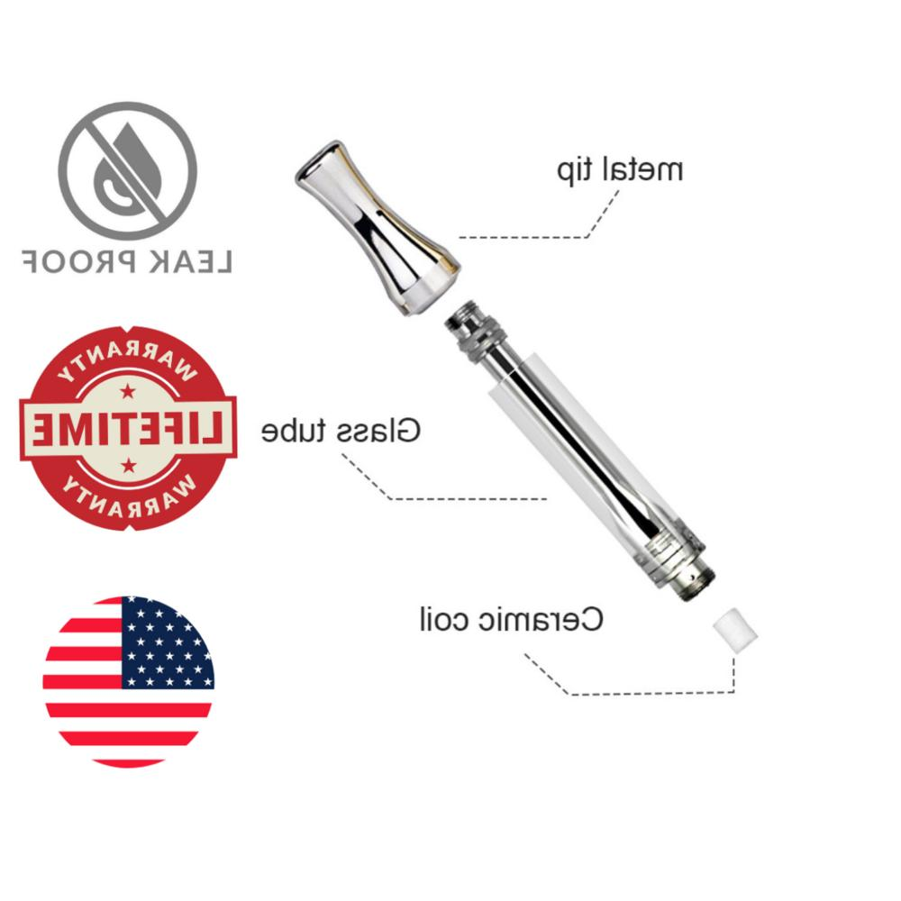 .5 CCELL Glass Coil Wickless Cartridge