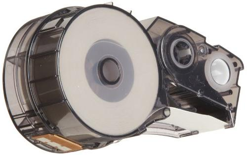 Brady High Label Tape Black - Compatible IDPAL, and LABPAL Printers - 21' Width