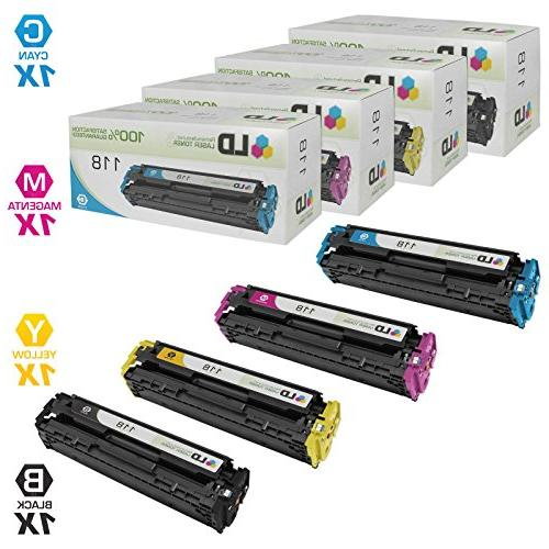 LD Compatible Toner Cartridge Replacements for Canon 118