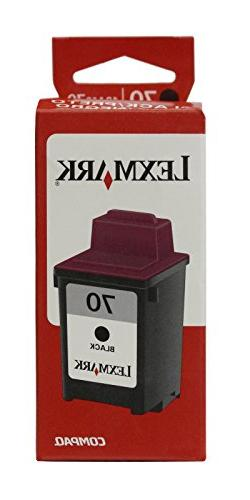 Lexmark #70 Black Ink Cartridge 12A1970
