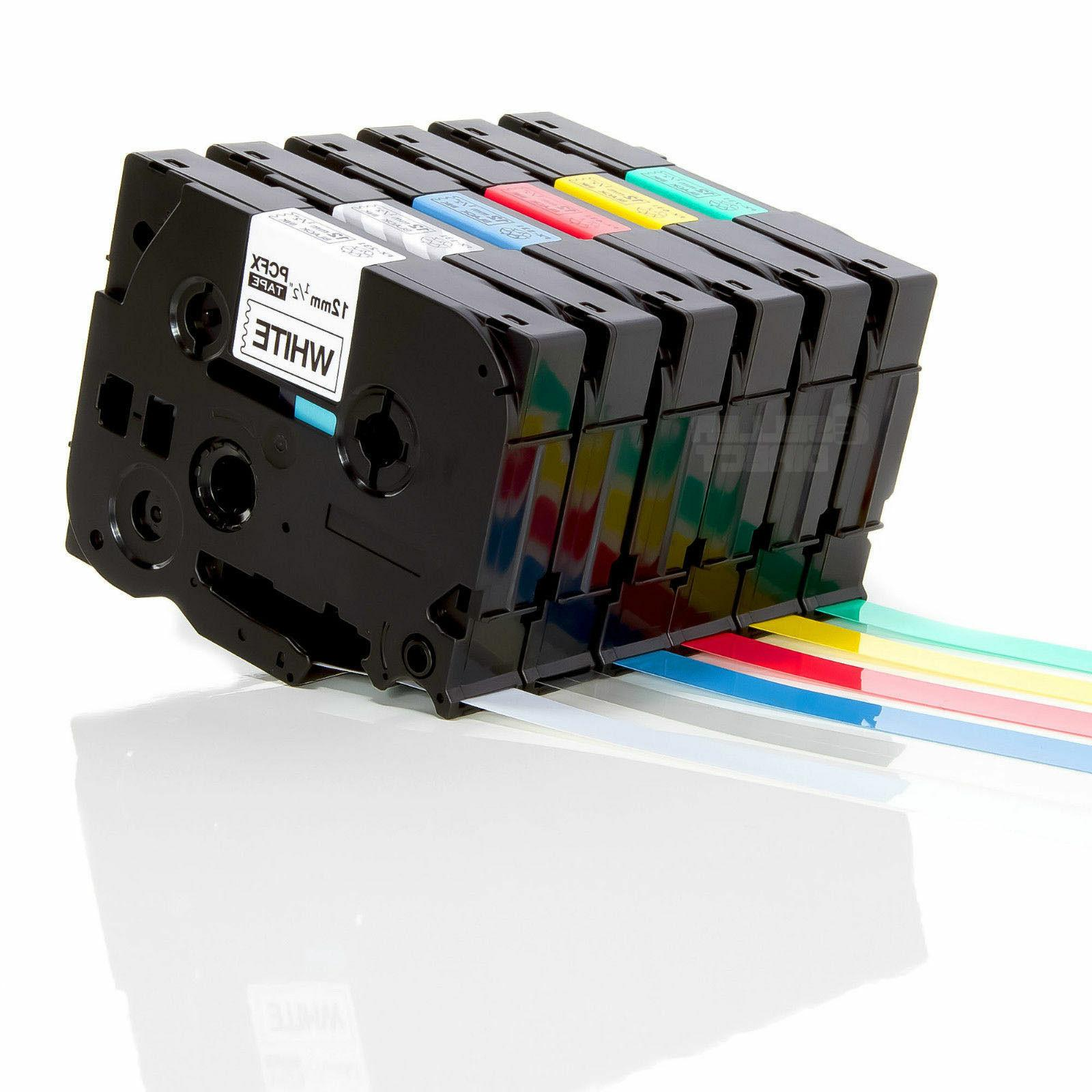 compatible label tape for brother 6mm 9mm