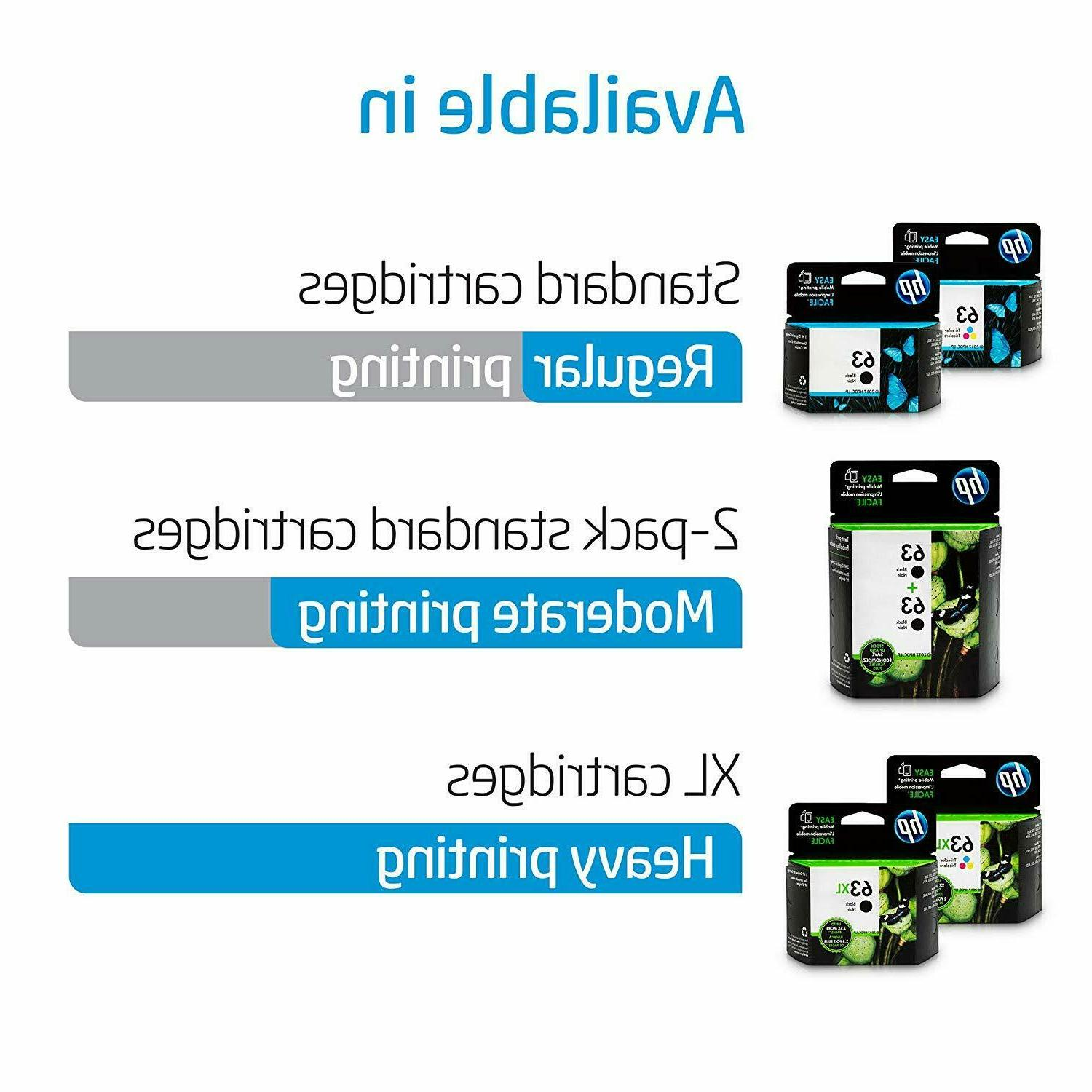 HP 63XL High Yield Ink for HP 1112,