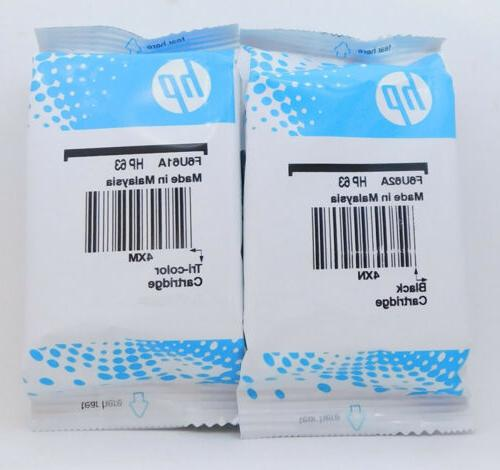 new hp 63 combo ink cartridges black