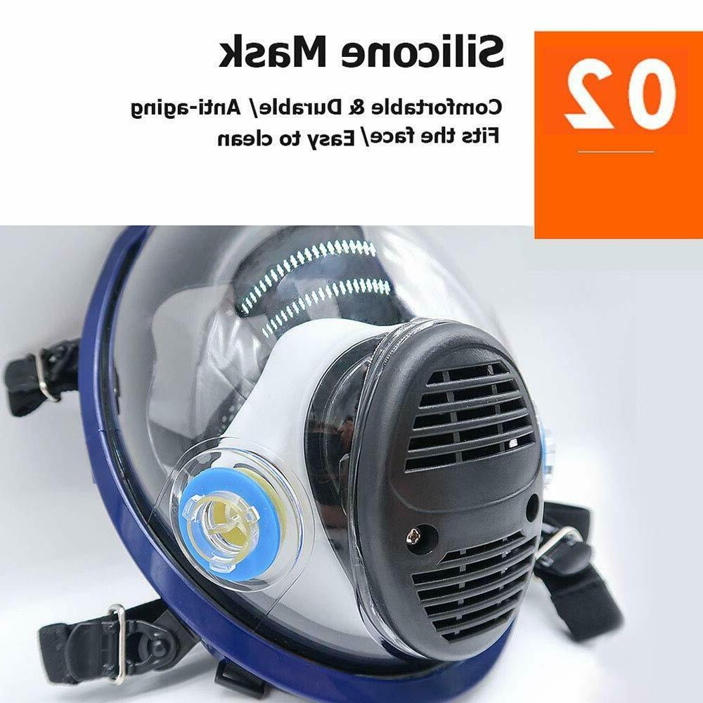 Respirator Full Face 15 in Gas Paint Chemicals Similar For 6800