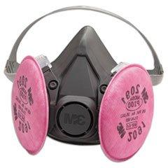3M Safety 142-6291 6000 Series Half Facepiece Respirator Ass