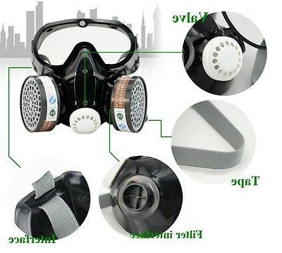 Safety Gas Respirator Paint Filter Mask