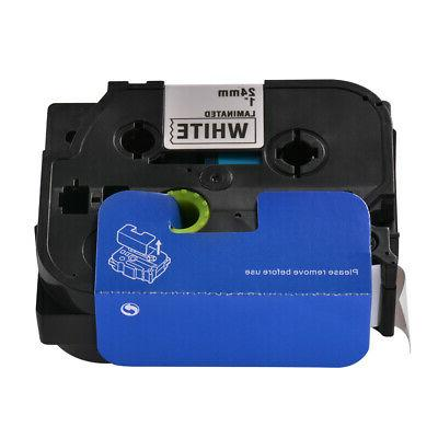 TZe251 Label Tape Cartridge Compatible with Brother P-Touch