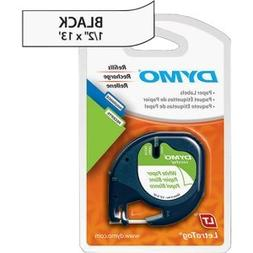 Dymo LABEL, DYMO LETRA TAG, 2 PACK, PAPER