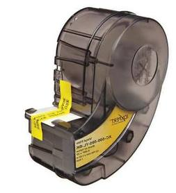 Label Cartridge,Black/White,1/2 In. W BRADY X-83-499