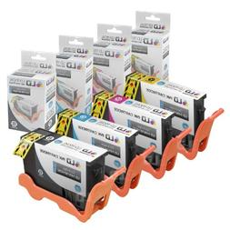 LD Compatible Lexmark 150XL Set of 4 High Yield Inkjet Cartr