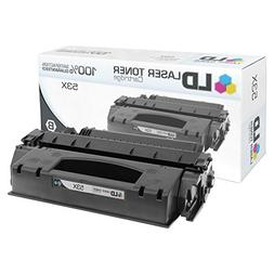 LD Compatible Toner Cartridge Replacement for HP 53X Q7553X
