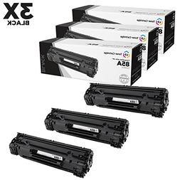Compatible Replacements for Hewlett Packard CE285A  3PK Blac