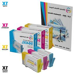 LD © Remanufactured HP 564XL Color Ink Set of 3 for Des