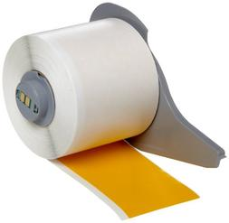 Brady High Adhesion Vinyl Label Tape  - Yellow Vinyl Film -