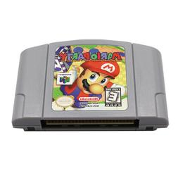 Mario Party 1 Video Game Cartridge Console Card US Version F