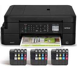 Brother Inkjet Printer, MFC-J775DW XL, Up to 2-years of Prin
