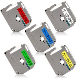 MK231-731 Label Cartridge 5PK 12mm Compatible For Brother P-