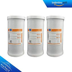 Carbon Block Water Filter Cartridge, MS Whole House CTO Coco