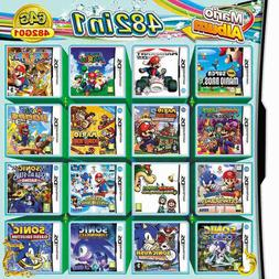NDS 482 in 1 Game Cartridge Mario Multicart for Nintendo DS