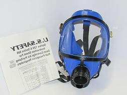 new US SAFETY 120 Dual Cartridge Silicone Facepiece air resp