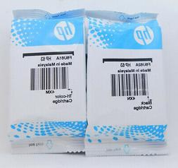 New HP 63 Combo Ink Cartridges Black & Color Genuine