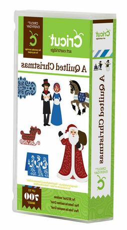 *New* Cricut A QUILTED CHRISTMAS Holiday Cartridge Factory S