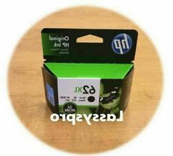 New GENUINE HP 62XL Black Original Ink Cartridge  OEM EXP 08