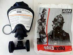 NEW MSA Safety Ultra Elite Respirator Facepiece with Twin-Ca