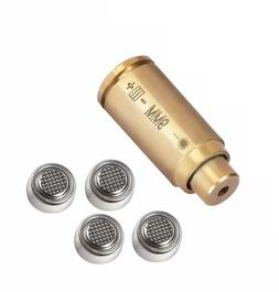 Ohhunt Brass CAL 9mm Red Laser Bore Sight Cartridge Bullet S