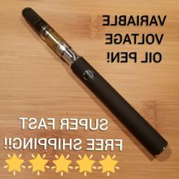 OIL VAPE-PEN VV 3 HEAT SETTINGS 510 THREAD BATTERY + USB CHA