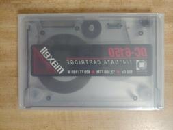"One Maxell DC-6150 1/4"" Data Cartridge for QIC 120 / 150"