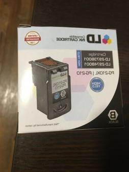 PACK  OF 2 LD 2973B001 PG210XL Black Ink Cartridge for Canon