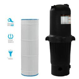 200 sq. ft. In-Ground Easy Clean Pool Cartridge Filter with