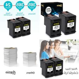 Remanufactured For HP 61 61XL Ink Cartridges 2 BLACK High Yi