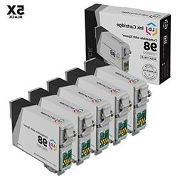 Remanufactured Replacements for Epson T0981 Set of 5 HY Ink