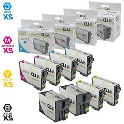 Remanufactured Replacements for Epson T252XL 8PK HY Ink Cart