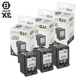 Remanufactured Replacements for HP C2P05AN / 62XL 3PK Black
