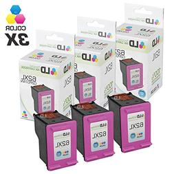 Remanufactured Replacements for HP C2P07AN / 62XL 2PK Color