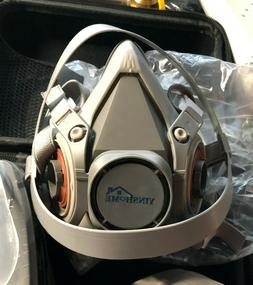 Yinshome Respirator Mask-Gas Mask With Dual Filter Cartridg