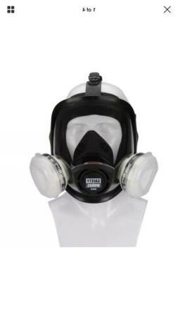 SAFETY WORKS SWX00327 PAINT & PESTICIDE RESPIRATOR FULL FACE