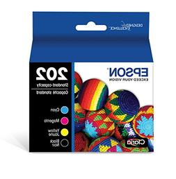 Epson T202 Claria Standard-Capacity Ink Cartridge Multi-Pack
