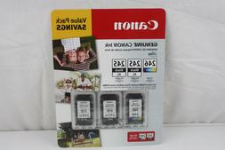 Canon Value Pack 2-245XL Black Ink Cartridges and 246 Color