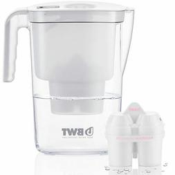BWT Vida Water Filter Jug, White 2.6 Litre with 1 x Mg2+ Lon